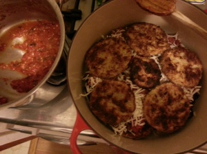 Cook's Illustrated Eggplant Parmesan