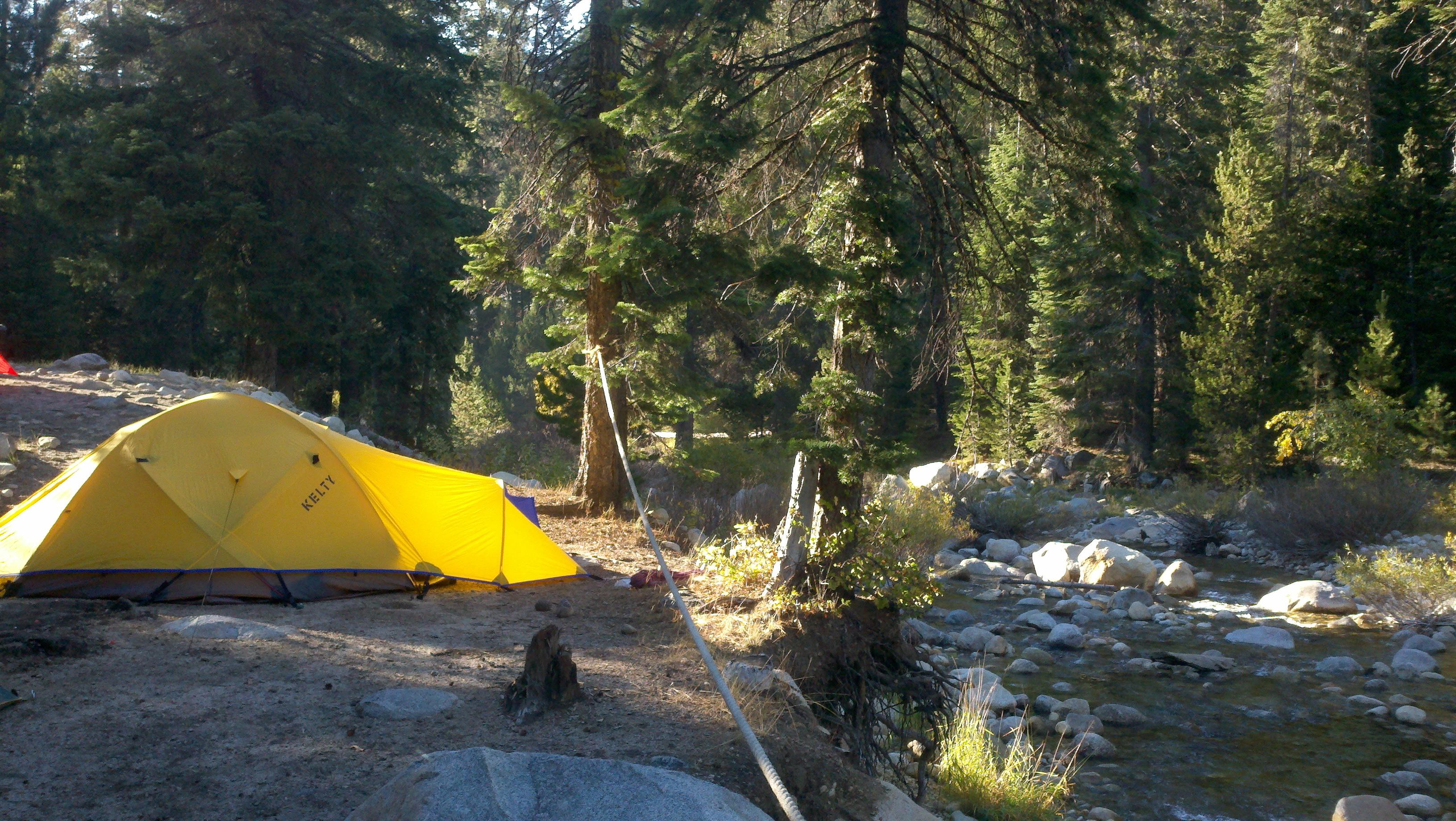 Lodgepole Campsite, Sequoia National Park