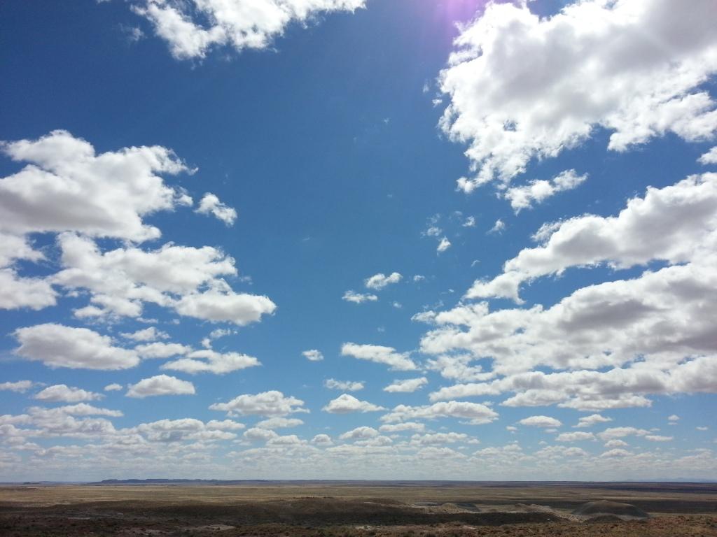 Big sky, Texas