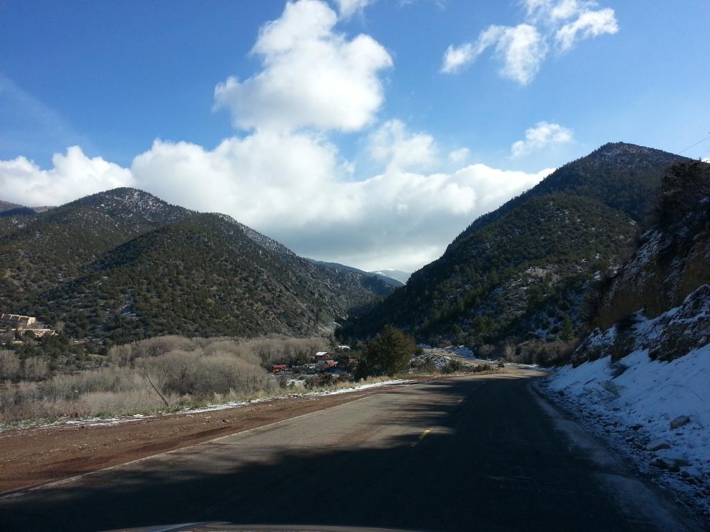 Road to Taos Ski Valley