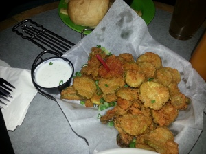Fried pickles, Wild Horse Saloon Nashville