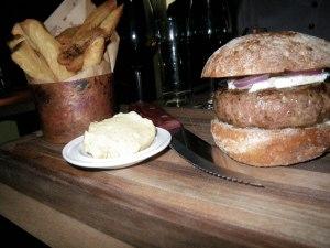 The Breslin burger