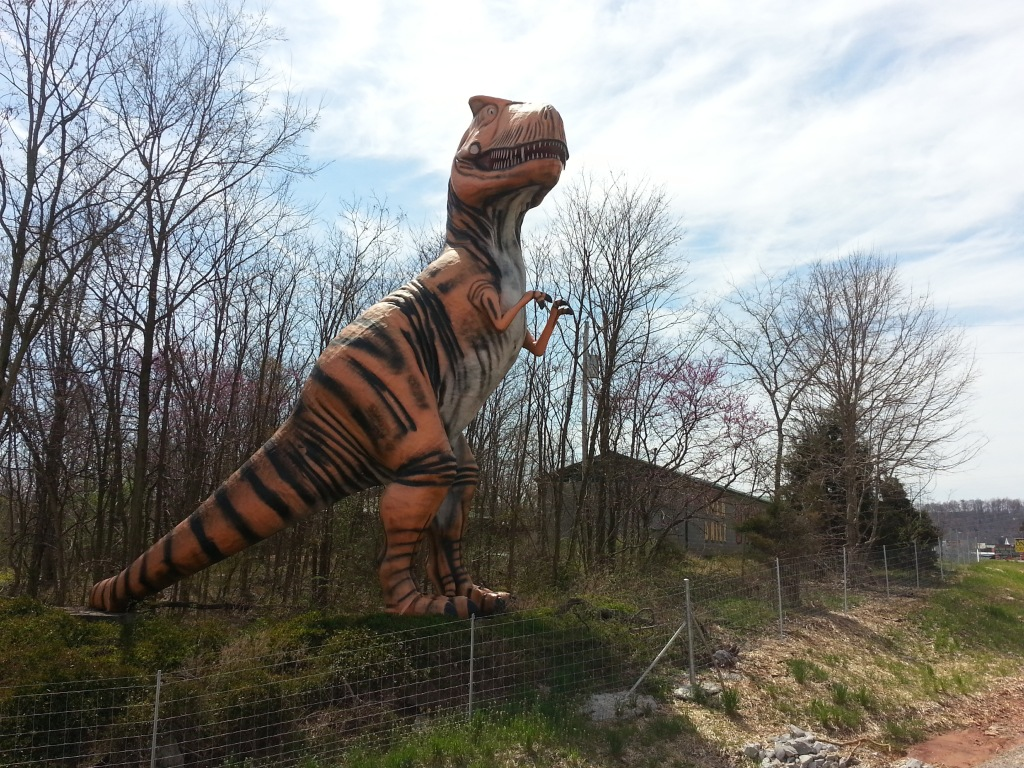 T-Rex, Dinosaur World, Kentucky