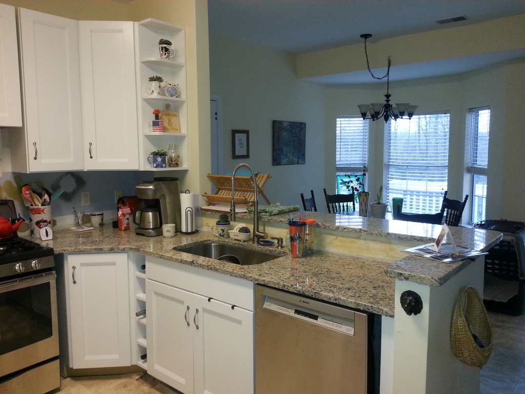 Kitchen after