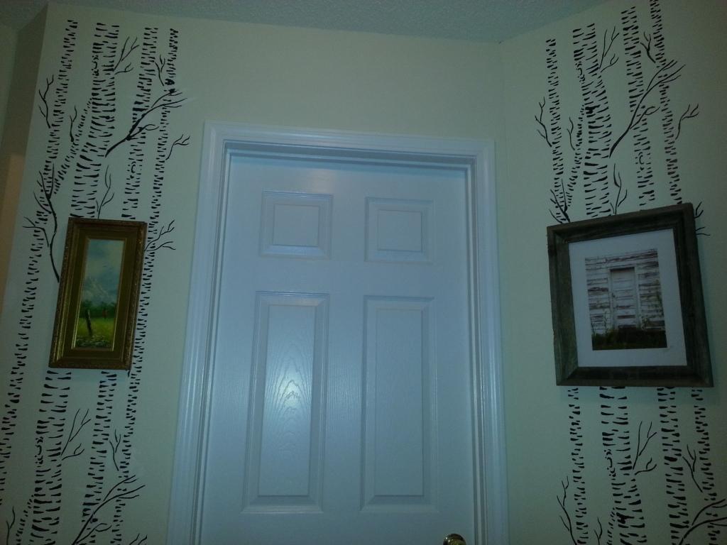 Hallway stencils
