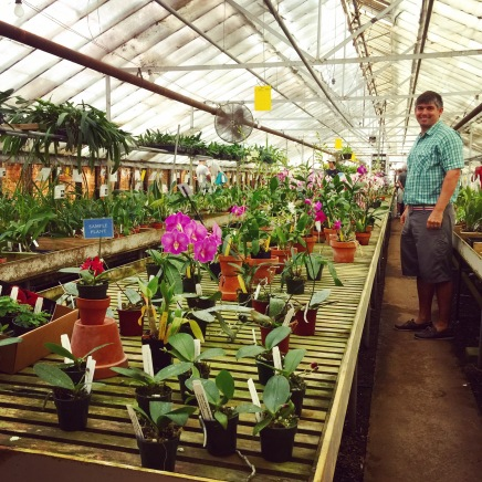 A Trip to Carter and Holmes Orchids in Newberry, S.C.