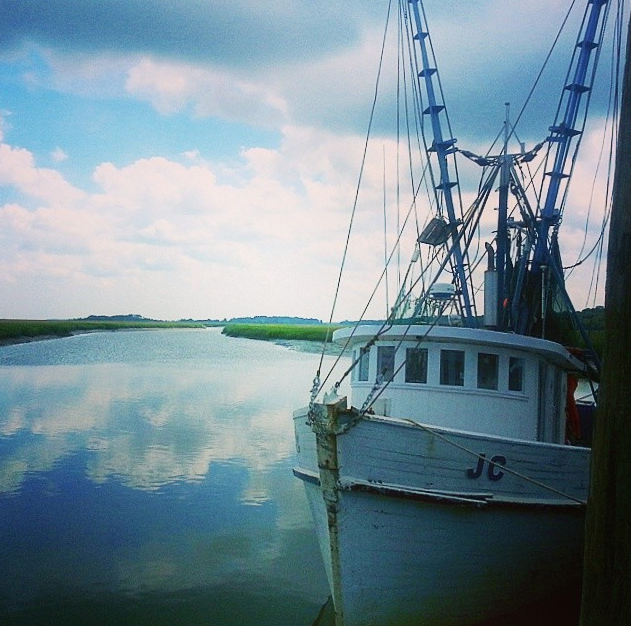Gay Fish Company shrimp boats