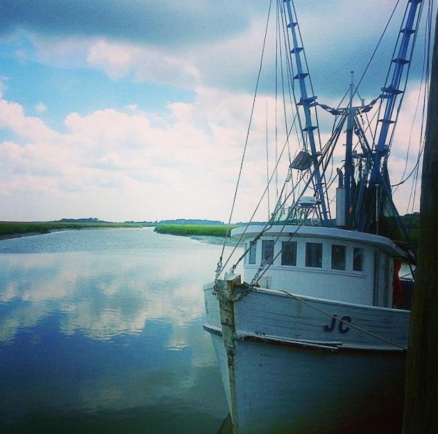 Gay Fish Company shrimp boats