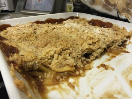 Pear-Apple Crumble Recipe from House Beautiful
